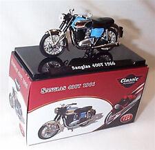 Sanglas 400T 1966 Classic Motorbike 1-24 Scale New in Case Atlas