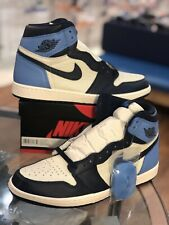 NIKE AIR JORDAN 1 RETRO HIGH OG OBSIDIAN UNC 555088-140 SIZE 11.5 DS