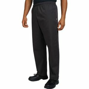 Dennys AFD Chefs Trousers Kitchen Pants Cooks Service Elasticated Waist (DC15)