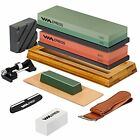 10 in One Combo Multi-purpose Knife Sharpening Stone Supplies 400/1000 3000/8000
