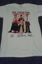 The Living End T-Shirt-Autographed by the BAND