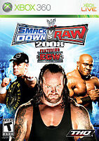 WWE SmackDown vs Raw 2008 Featuring ECW Microsoft Xbox 360 2007 Disc Only Tested