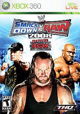 WWE SmackDown vs. Raw 2008 Featuring ECW (Microsoft Xbox 360, 2007)