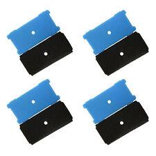 4x HQRP Coarse and Fine Pre-Filter Pads for Sunterra 320106, 337106