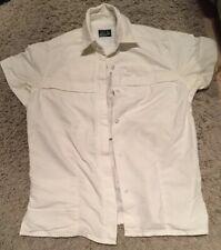 Ladies/womans Craghopper Short Sleeved White Shirt Size 10