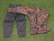 Dragon 1/6 WW II Suelto Smock y pantalones de S/Set 2 (Marrón)