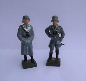 Lineol kein Elastolin Militär Masse Soldaten Flak Luftwaffe 7,5 cm Serie