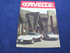Corvette News - Winter 82/83, 1983 Model Year