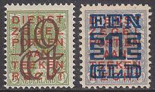 NVPH 132-133 Opruimingsuitgifte 1923 postfris (MNH)