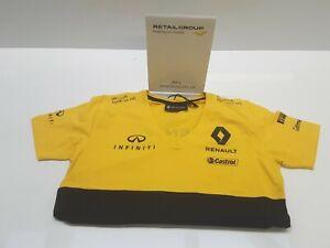 Genuine Renault F1 Sport Womens T-Shirt Size S 7711785188