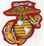 US MARINE CORPS Logo Semper Fidelis Iron On Patch Marines USMC Military Motto