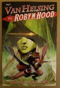 VAN HELSING vs. ROBYN HOOD TPB (Zenescope Comics) 1st New Mint