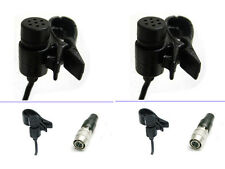 2 pcs Lavalier Mic Lapel Microphone for Audio-Technica Wireless ATW T27 T31 T801