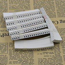 170 Value 1206 SMD Resistor Kit (0R~10MR) 1/4W ±5% 3400pcs RoHS