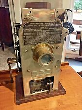 35mm film projector Edison Universal Projecting Kinetoscope as found