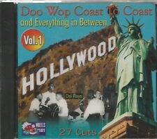 DOO WOP COAST TO COAST - CD -  Vol. 1 - BRAND NEW