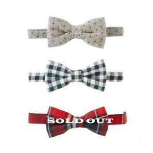 Mud Pie Holiday Christmas Boys Bow Tie