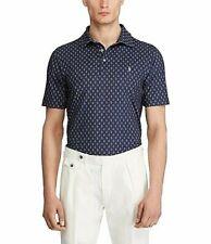 Polo Ralph Lauren Mini Print Short-Sleeve Polo Shirt Navy XL Free 2-3 Day Ship