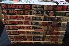 9 Bk Lot~Shonen Jump~Naruto (5,8,18,21,24,25,27,32,33)
