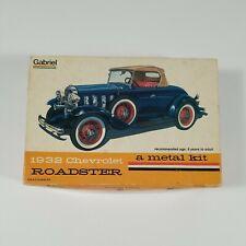 Hubley Gabriel 1932 Chevy Roadster Metal Model Kit #4862  NOS FREE USA SHIP