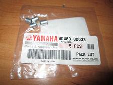 yamaha clip pompa olio 90468-02033 rd500 rz500 NOS 5 pezzi/set rd350 rz350