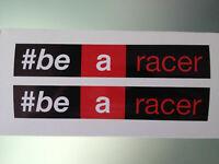 TP Be a racer Aufkleber stickers / decals (Aprilia #be a racer) /1056