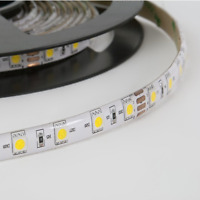 Toki 2700K Warm White IP65 Flexible LED Strip Light Kit 8mm x 2m Length