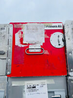 Primera FLUGZEUGTROLLEY CATERING CONTAINER UNIT BOX  ATLAS rot
