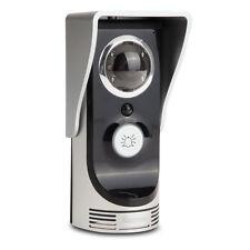 Wireless Remote Video Camera Door Phone Doorbell Waterproof Home Security Silver