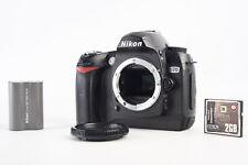 Nikon D70 6.1MP Digital SLR Camera Body with 2GB CF Card Cap & Battery V14