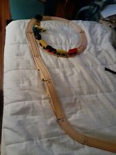 Wooden Train and tracks for kids