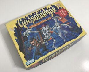 VINTAGE 1995 - GOOSEBUMPS SHRIEKS & SPIDERS GAME - INCOMPLETE - R.L STEIN
