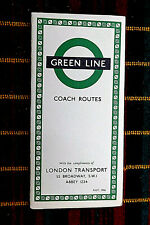 More details for london transport green line coach map july 1956   656/1419s/50,000