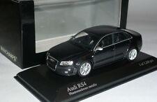 "Audi RS4 2005 1:43 ""Phantom"" Black Metallic Ltd Edition 1200 pcs by Minichamps"