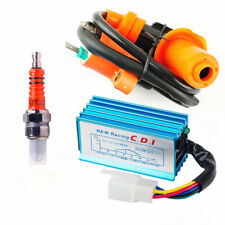 Racing Ignition Coil+5 Pin AC CDI+A7TC Spark Plug For 50-160cc Engine Dirt Bike