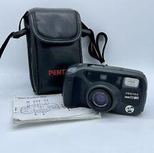 Vintage Japan Pentax Zoom 90-WR 35mm Water Resistant Point Camera Lomography