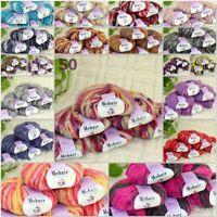 Sale New 6BallsX25g Luxury Soft Mohair Warm Wrap Shawl Hand Knit Crochet Yarn