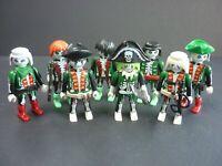 Playmobil Bundle 8 Figures Zombie Undead Ghost Pirates