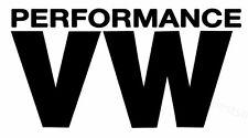 2x Volkswagen Performance Aufkleber Window Bumper Laptop Sticker Vinil Decal 119