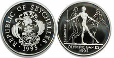 SEYCHELLES 25 RUPEES 1993  KM#70 SILVER 0.925