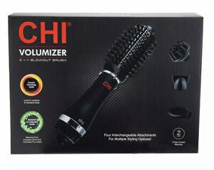 CHI Volumizer 4-in-1 Blowout Brush - Black (CA7557) new open box