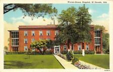 EL DORADO, AR Arkansas   WARNER-BROWN HOSPITAL  Union County  c1940's Postcard