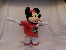 DISNEY MASTER MOVES MICKEY MOUSE M3 BREAK DANCING SINGING FISHER PRICE PLUSH TOY