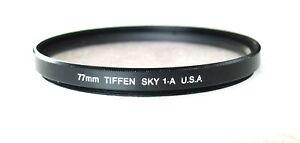 77mm Tiffen Skylight 1A Filter - NEW