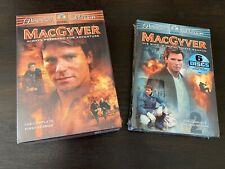 MacGyver: The TV Movies (DVD) 12 Disc's- FIRST & SECOND Season-new Sealed