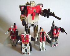 Transformers G1 Aerialbots (Lot of 5), 1980s (Condition Good - VG)