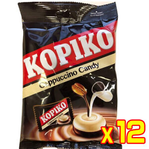 Kopiko Cappuccino Coffee Candy Sweet 100G (Box of 12 Pack)