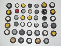 Lego ® Roue Jante + Pneu Voiture Camion Wheels & Tyres Choose Model & Color