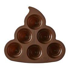 ROSANNA PANSINO by Wilton Silicone Poop Emoji Cake Pan - 6-Cavity Silicone Ca...