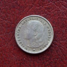 Netherlands 1895 silver 10 cents